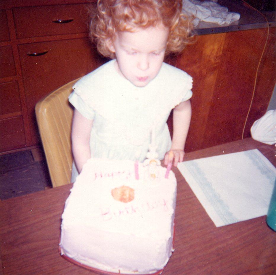 Karen age 3