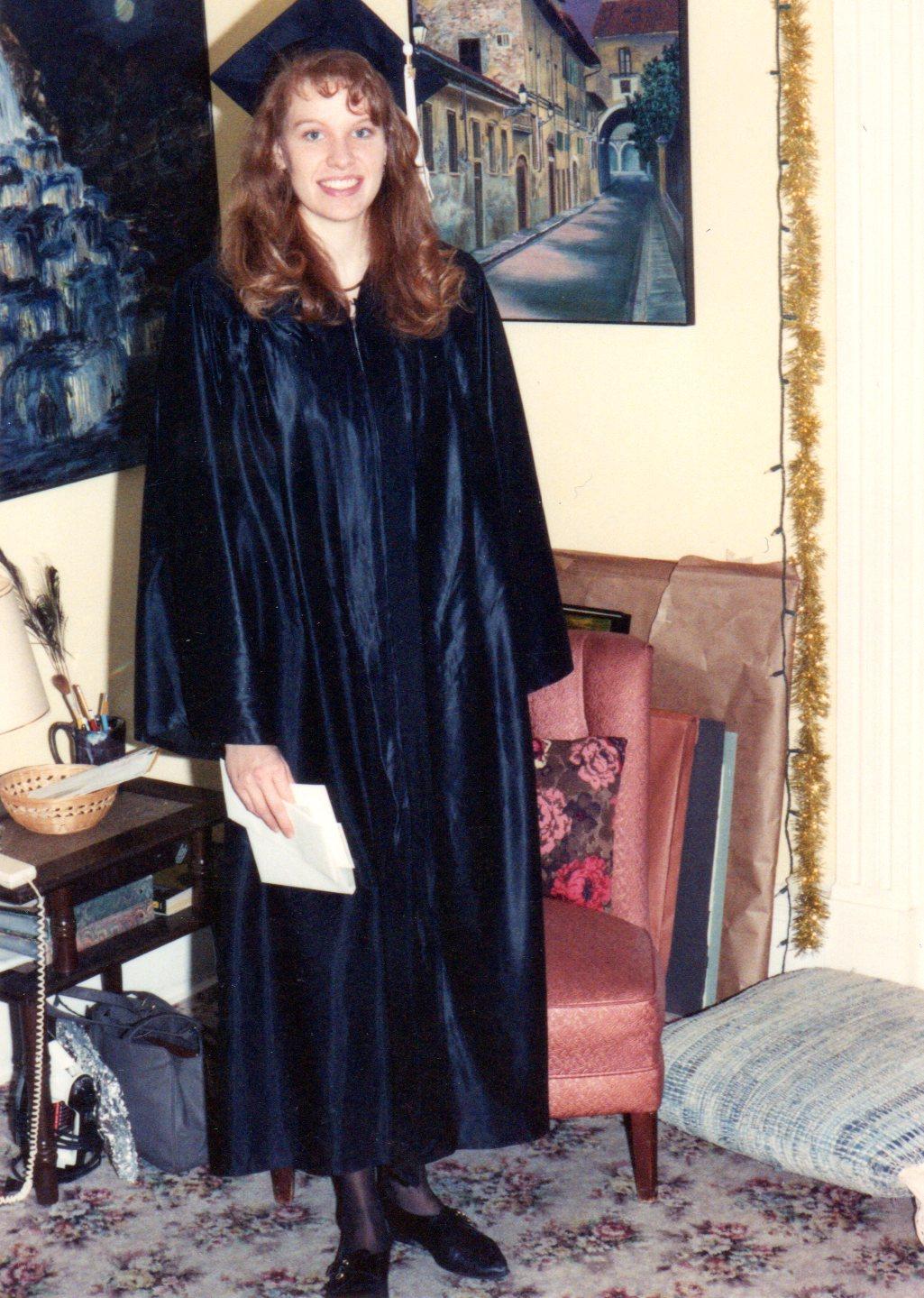 Karen\'s graduation